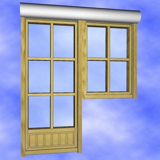 cad varianten 2d und 3d f r fenster t ren. Black Bedroom Furniture Sets. Home Design Ideas