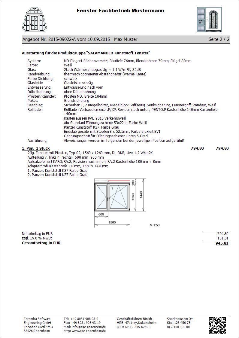Konfigurieren von roma rollladen und raffstore for Fenster angebot