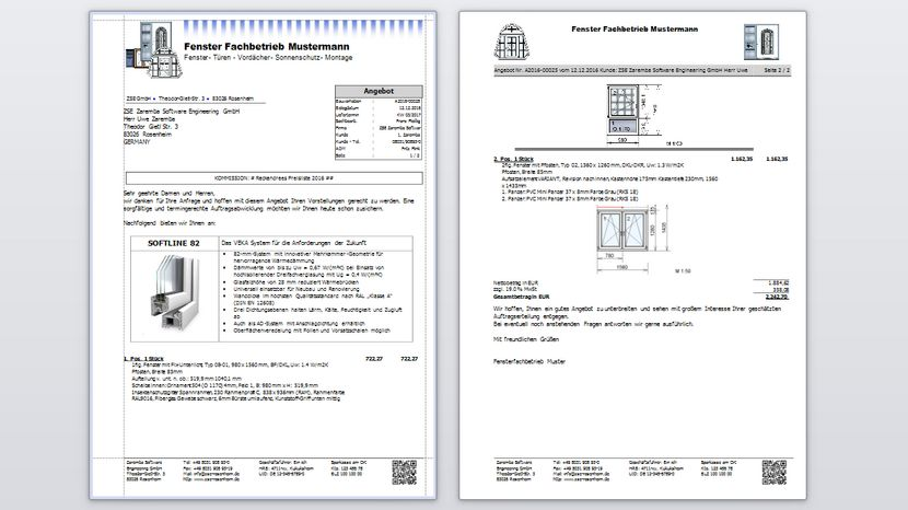 Reckendrees rollladen konfigurator for Angebot fenster