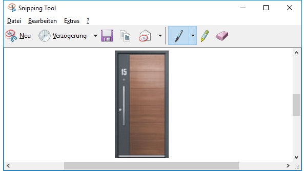 snipping tool haustuer